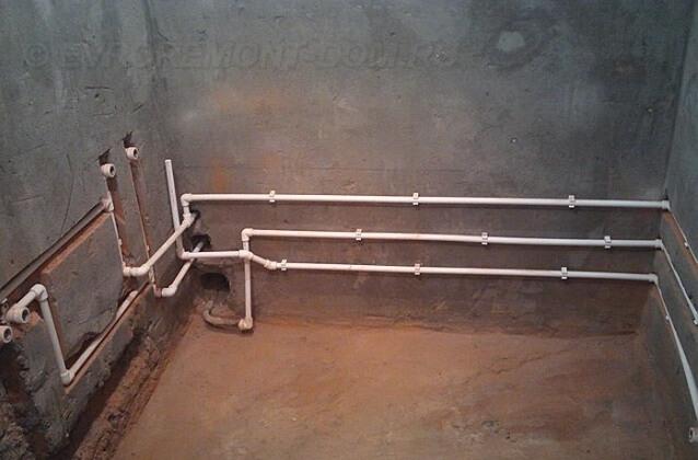 Монтаж полипропиленового водопровода