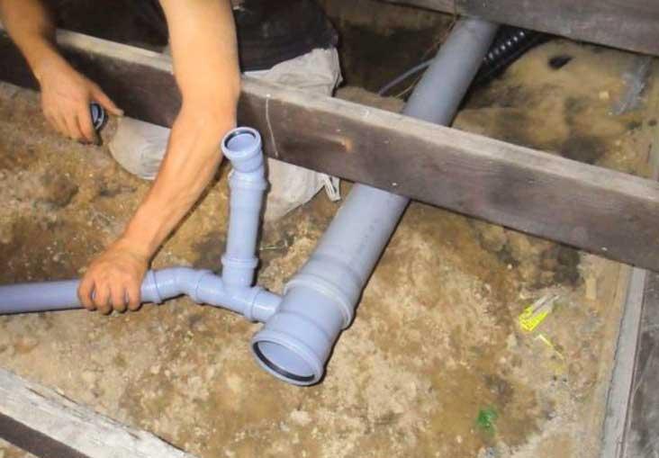 Сборка пластиковой канализации своими руками